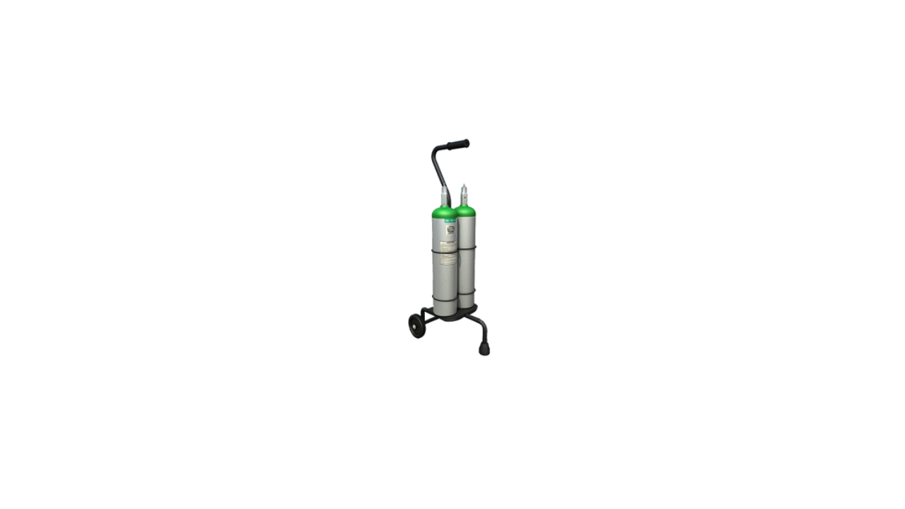 oxygen cylinder at home